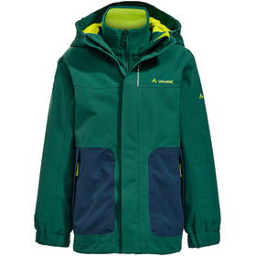 VAUDE Campfire IV 3in1 Jacket Kinder fir forest